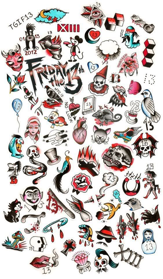 Friday the 13th tattoos google search friday 13 for Black friday tattoo deals