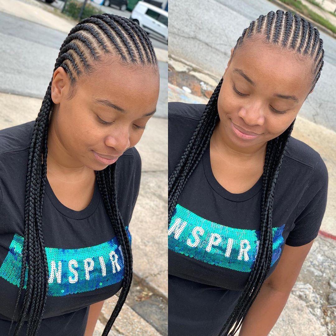 2020 African Hair Braiding Styles Super Flattering Braids You Should Rock Next African Braids Hairstyles African Hair Braiding Styles African Hairstyles