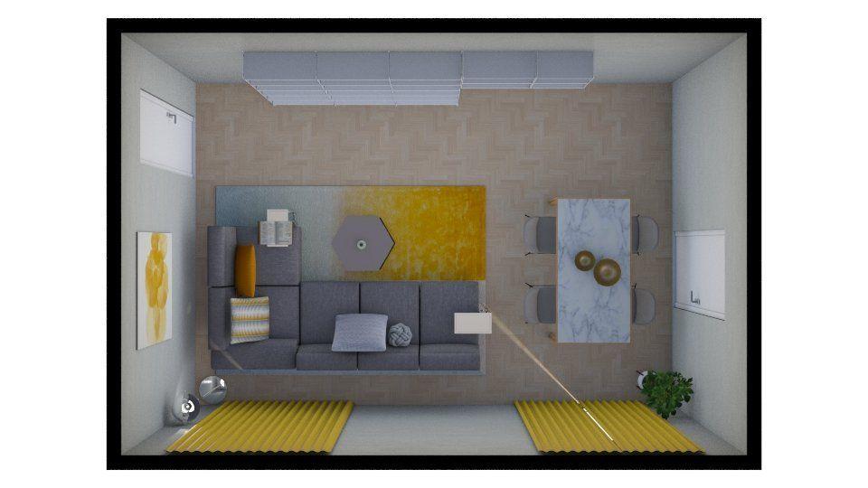 Come Disporre I Mobili Della Sala : Arredare un soggiorno rettangolare o quadrato con queste idee i