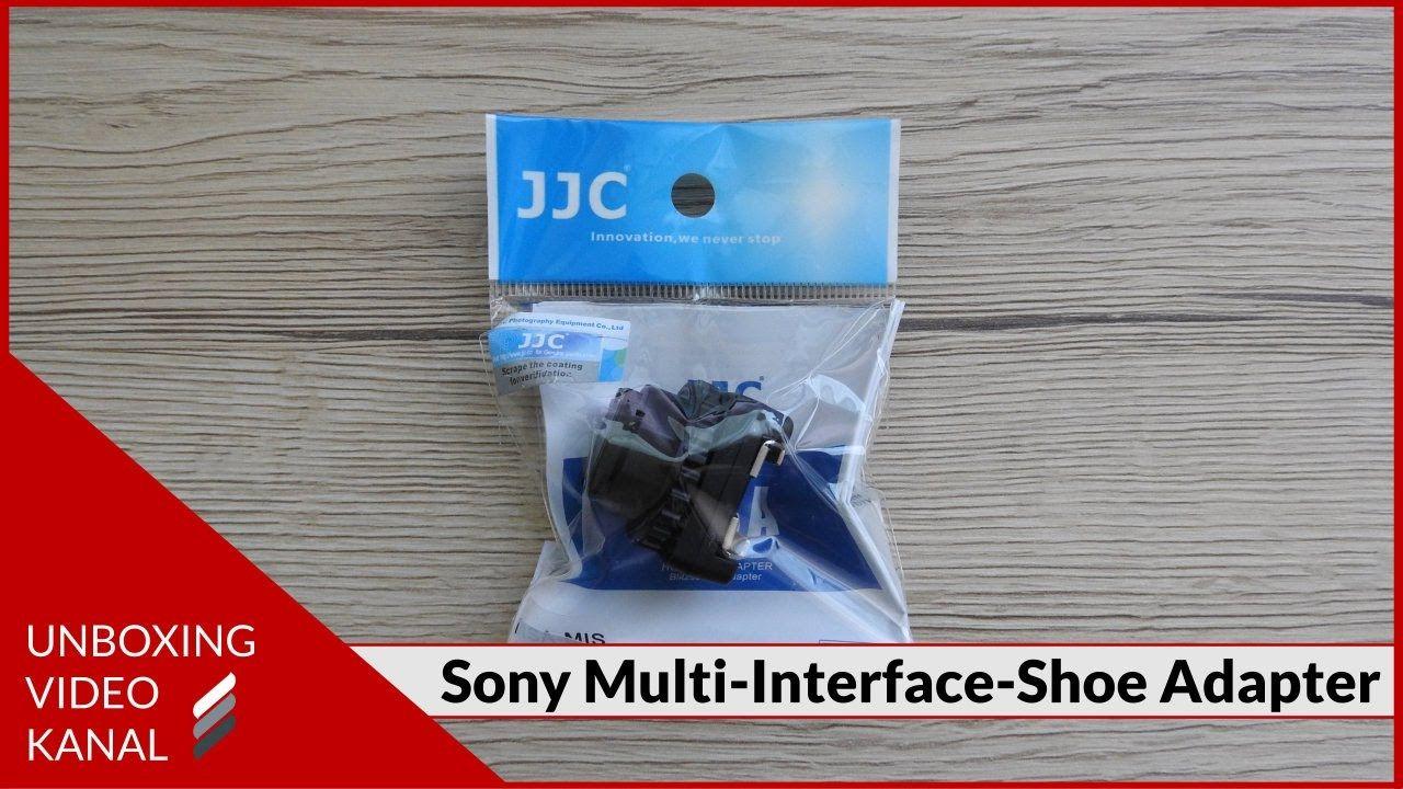 Unboxing Video über ein Adapter für den Sony Multi-Interface-Shoe #unboxingvideo #adapter #sonymultiinterfaceshoe