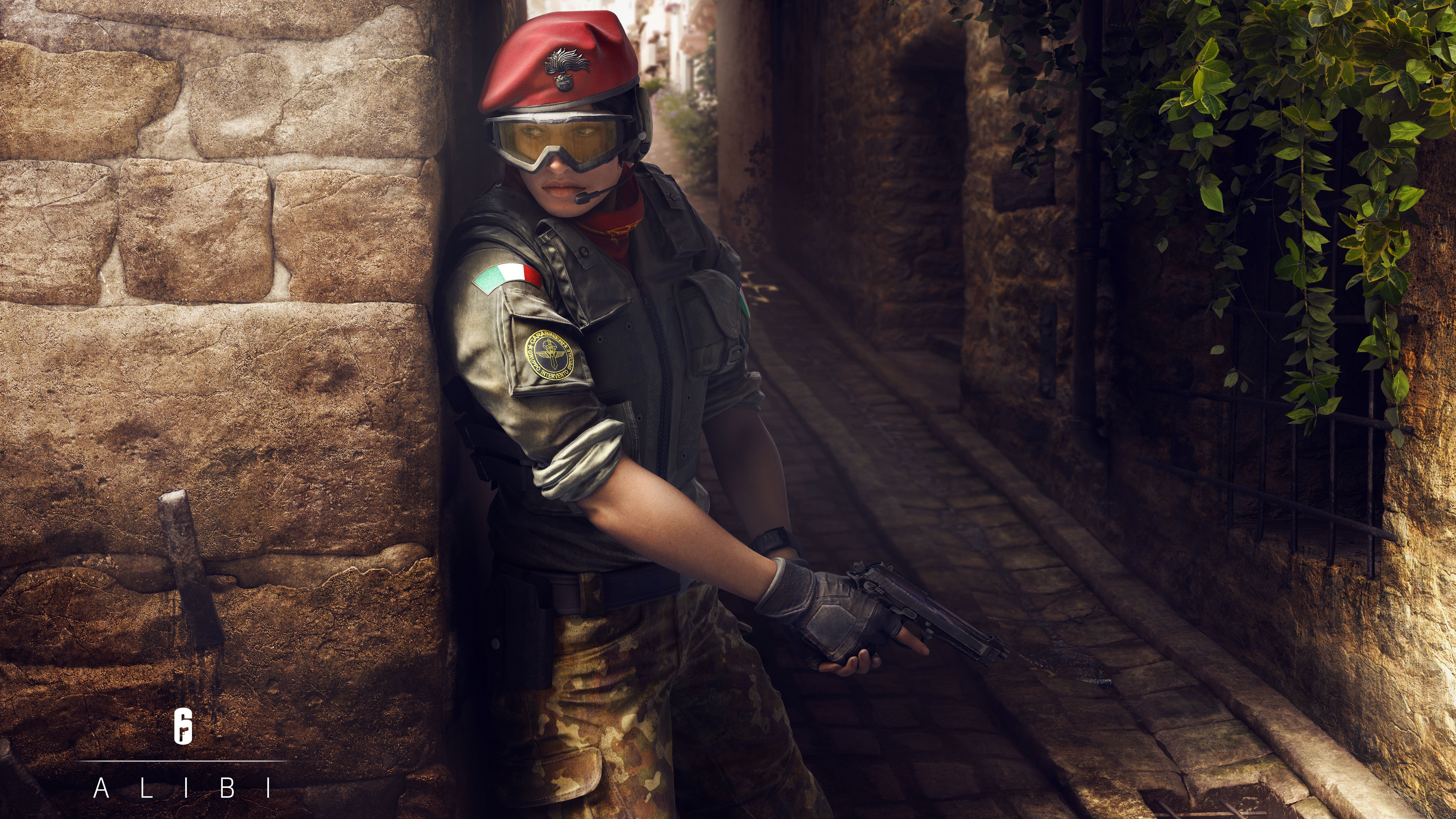 Alibi In Tom Clancys Rainbow Six Siege 4k 8k Clancys Rainbow