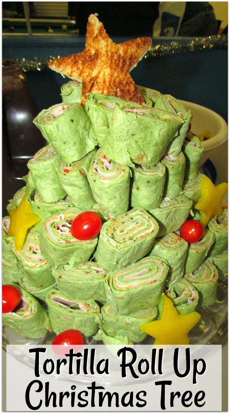 Neiman Marcus Party Dip and Tortilla Roll Up Christmas Tree ...