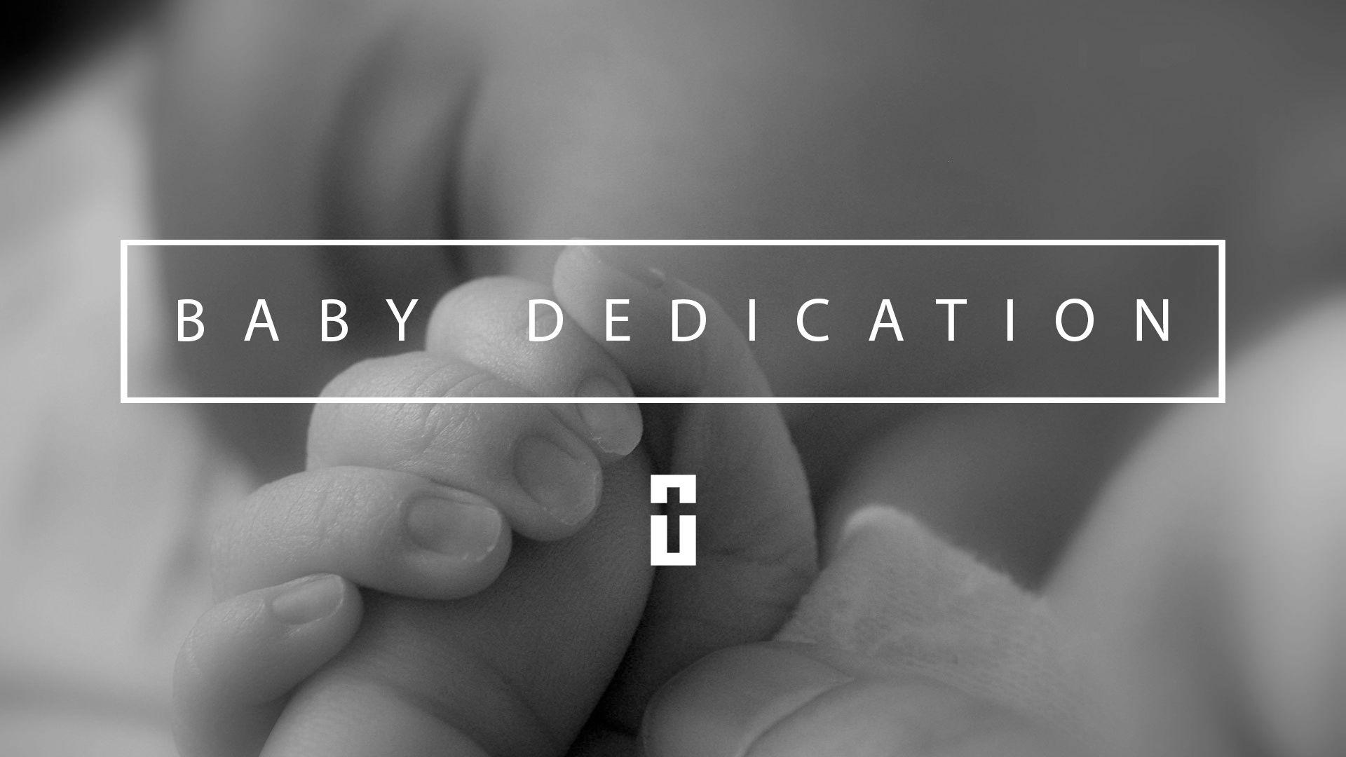 Baby Dedication Slide For Worship Service My Design Prayer