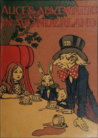 when was alice in wonderland written