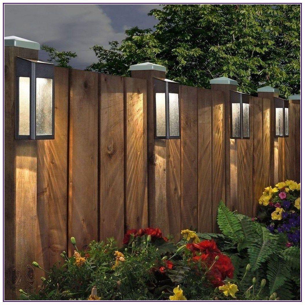 25 Backyard Hacks That Will Transform Your Yard 00021 Backyard Lighting Solar Fence Lights Backyard Fences