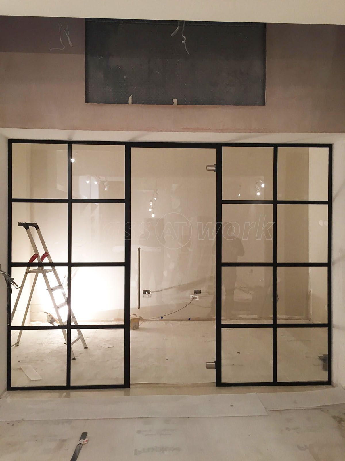 From Gl At Work Factory Style Parion Wall Door For A Domestic Project In Fulham London