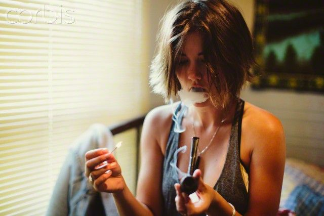 young woman smoking pipe pipe smokin pinterest pipes young