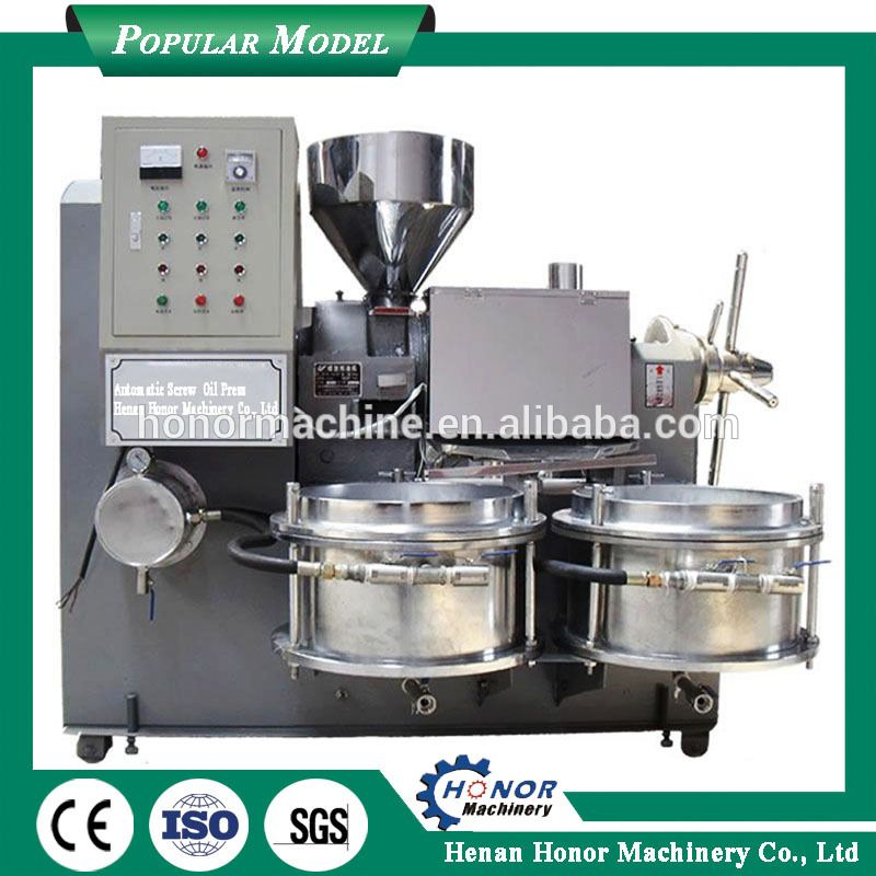 Complete Automatic Peanut Oil Mill Sunflower Oil Press