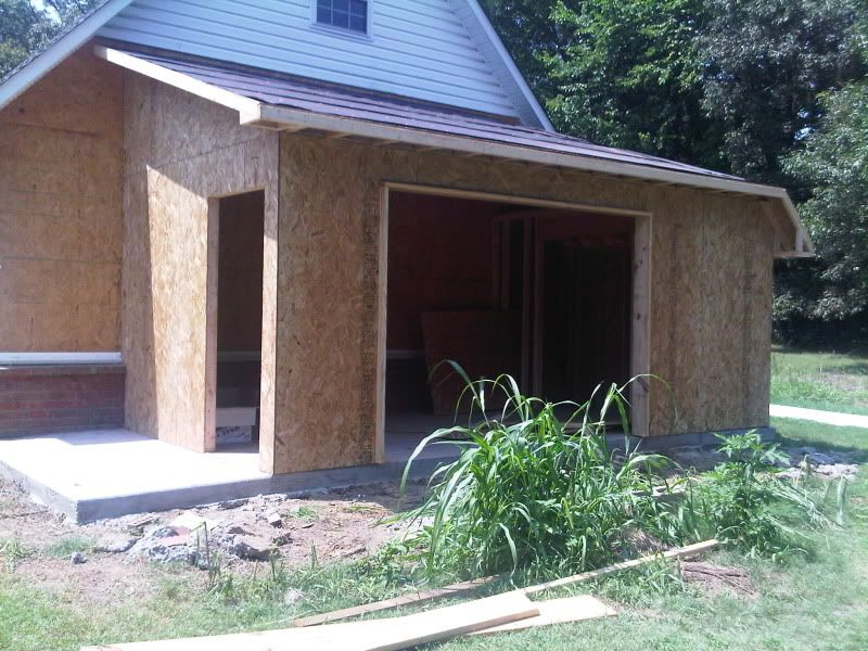 My Lean To Addition Finally Pic Heavy Shed House Plans