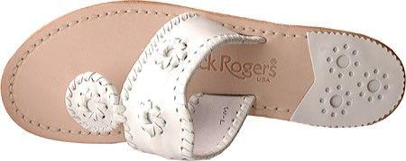 Jack Rogers Women's Navajo Sandal, Size: 10.5 M, White