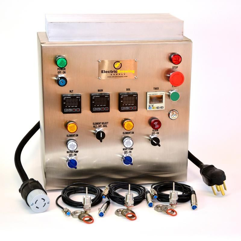 30a Pid Complete Control Panel Kit Control Panel Electrical Projects Paneling