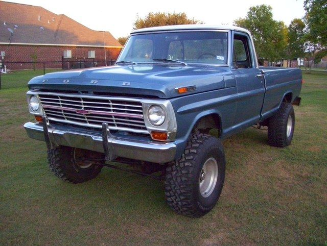 1969 Ford Truck 1969 Ford F 100 Pickup With Images Classic