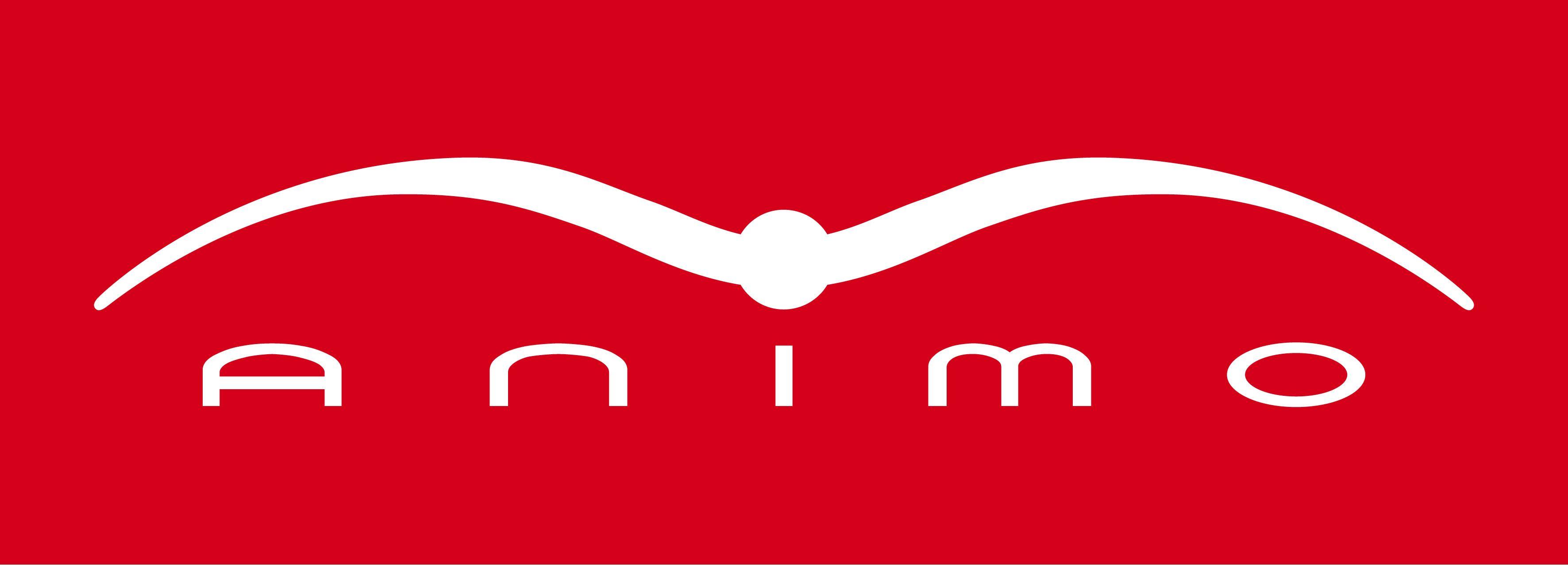 Animo Italia Logo in Red