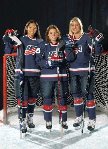 hockey pose