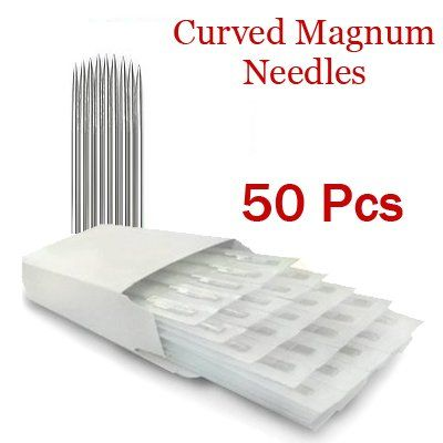 7 Curved Magnum Tattoo Needles 50 Pack -- More info could be found at the image url. Note:It is Affiliate Link to Amazon.