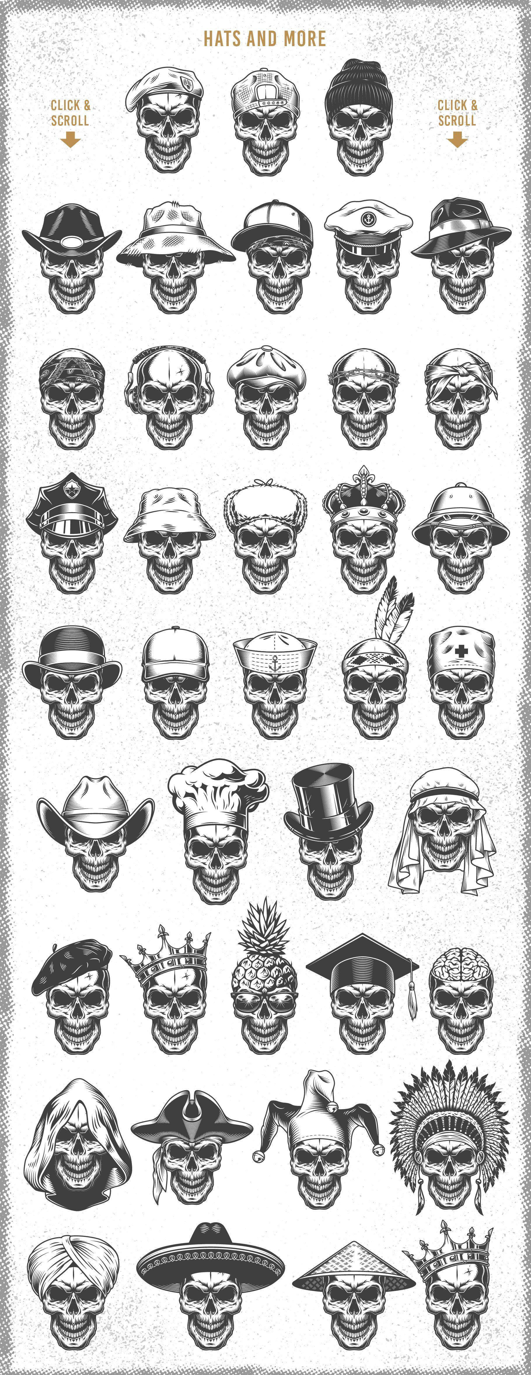 Skull creator Skull tattoo design, Skull beard, Ski mask