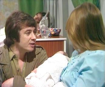 Born: January 20th 1943 ~ Neville Buswell is a British actor, best known for his role as Ray Langton in Coronation Street. He played Deidrie's first husband and  Tracy's dad seen here.