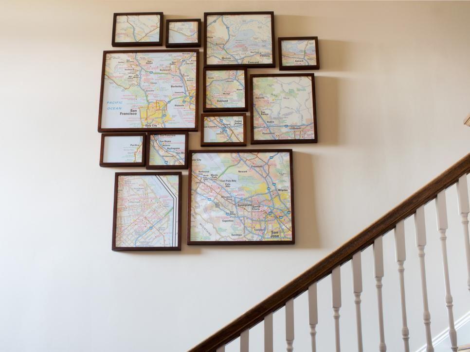 25 Ways to Dress Up Blank Walls Blank walls, Diy wall art and Diy wall