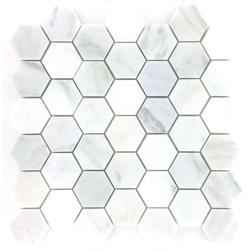 Decor8 Tiles 300 X 300 X 10mm Florentine White Marble Tile Mosaic Mosaic Tiles Honed Marble Tiles Marble Mosaic