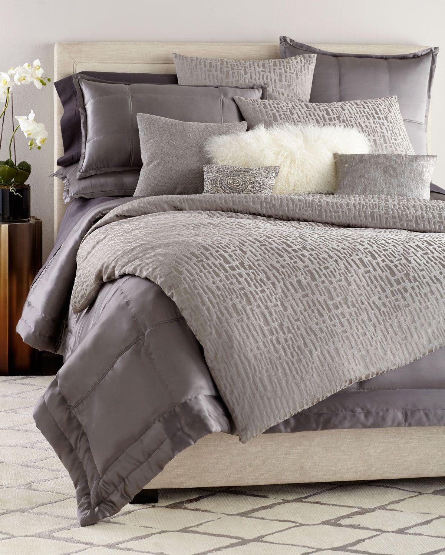 Reflection Standard Quilted Silk Sham En 2020 Dormitorios Deco King S