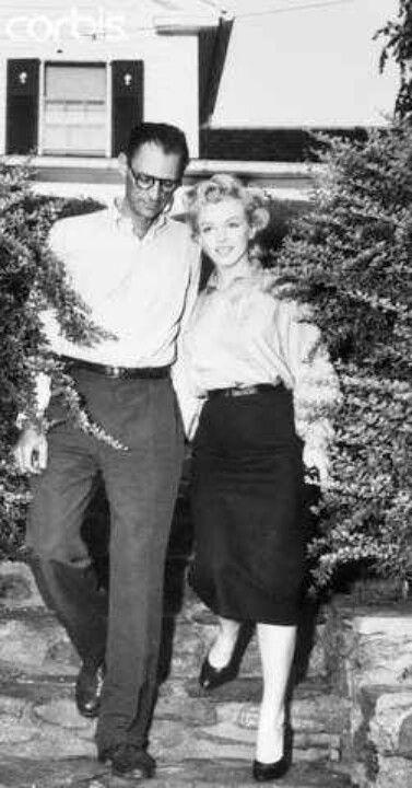 Marilyn and Arthur, 1956