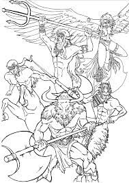 Greek Mythology Coloring Pages Google Search Greek Mythology Gods Coloring Pages Greek Mythology