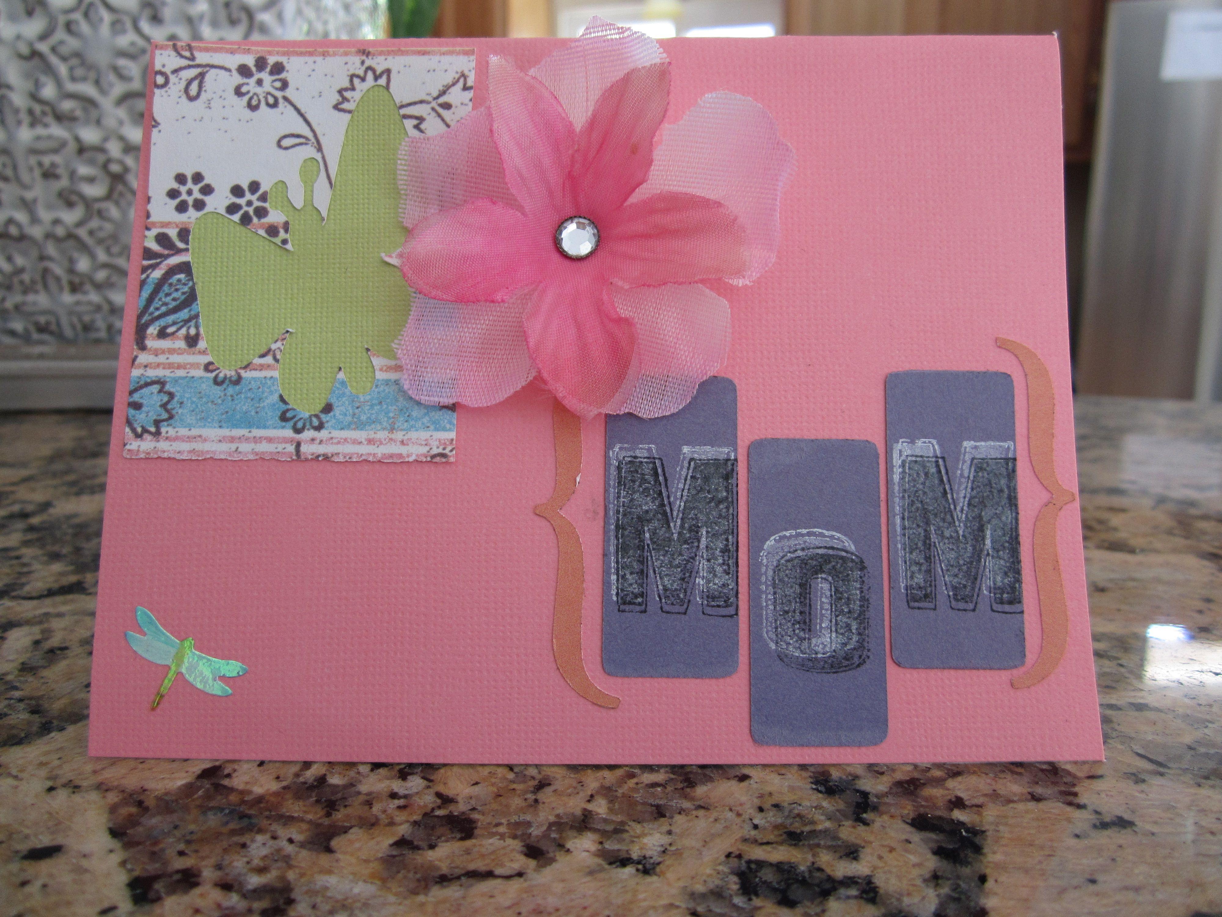 Handmade card by Dina Greene