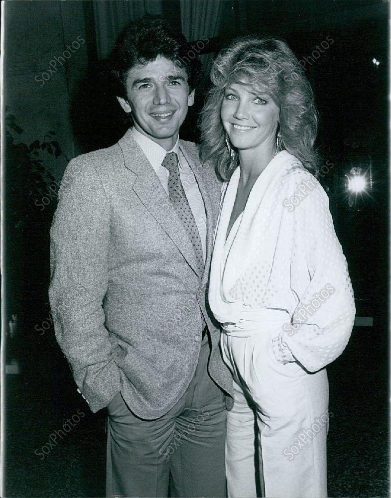 CA27 1984 Blonde Heather Locklear Adrian Zmed T.J Hooker Stars Press Photo