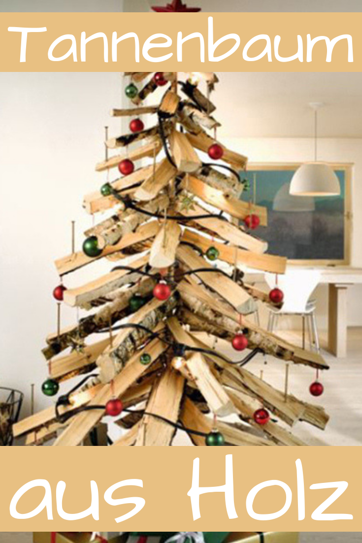 tannenbaum aus holz bauen weihnachten holz tannenbaum. Black Bedroom Furniture Sets. Home Design Ideas