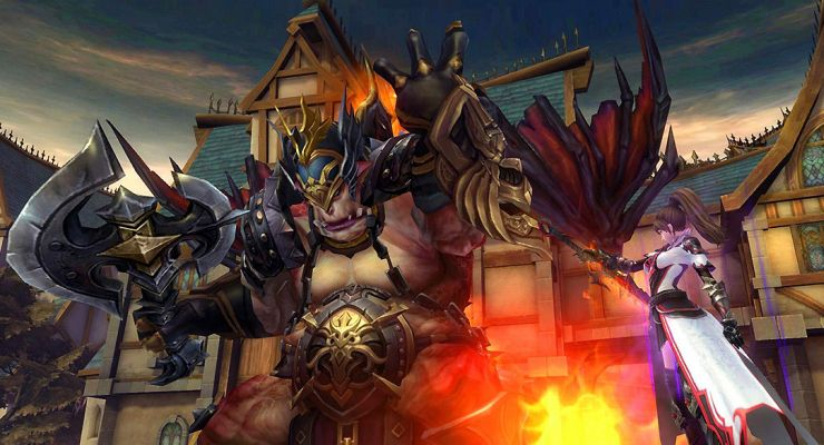 Eternal magic is a game on pc roleplaying mmo new