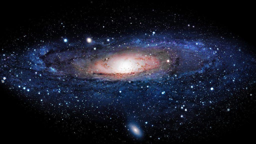 Oboi Dlya Rabochego Stola Kosmos Galaktika Andromeda Oboi
