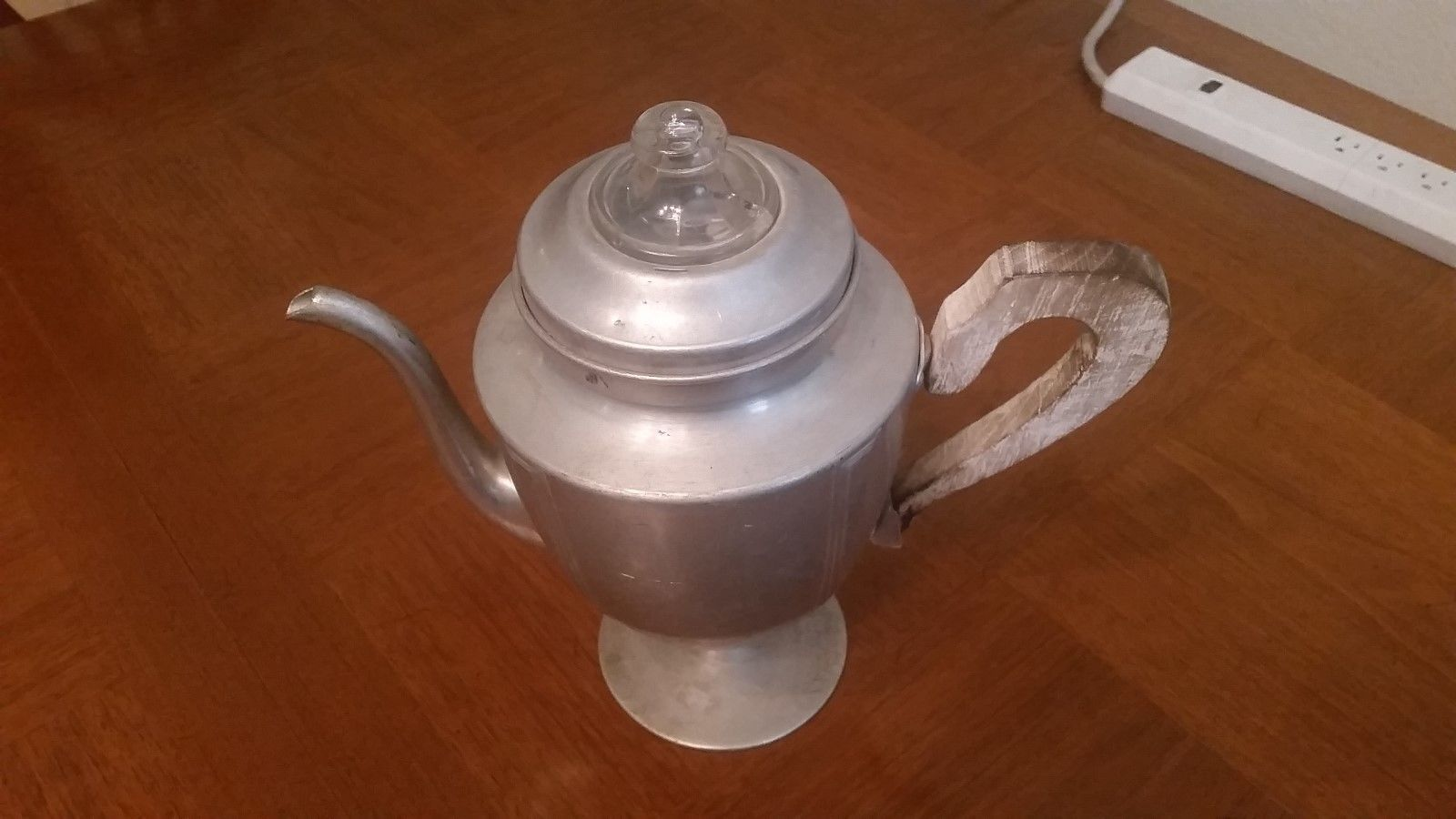 Vintage Viko Aluminum Coffee Pot Percolator Maker Stove