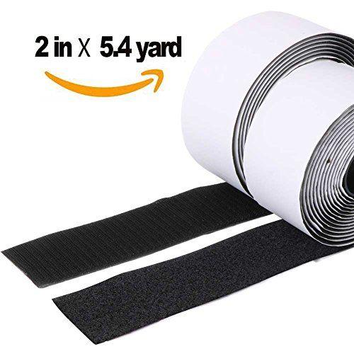 Trubatis 2 Velcro Strips With Adhesive Self Adhesive