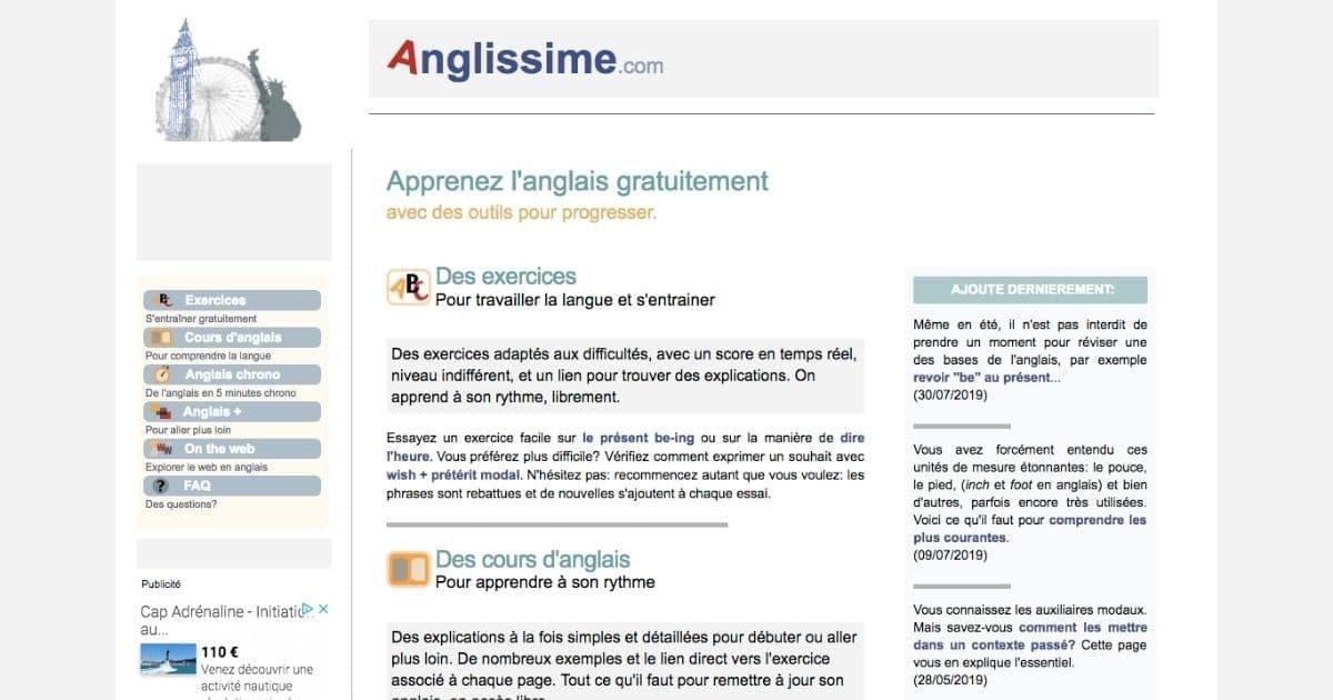 Top 20 Des Meilleurs Sites Gratuits Pour Apprendre L Anglais Topito En 2020 Apprendre L Anglais Apprendre L Anglais Gratuitement Anglais