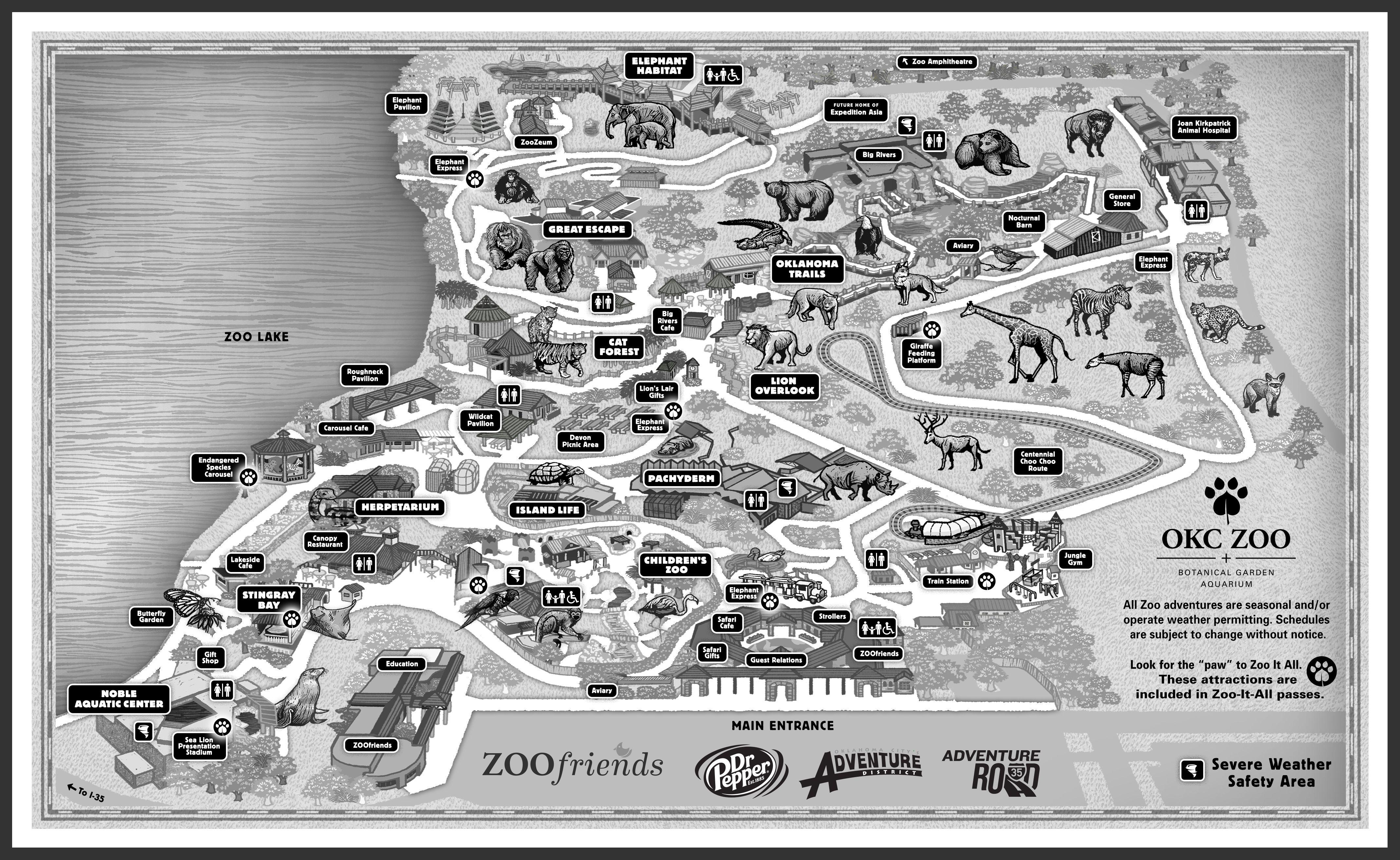 Visit the OKC Zoo Open 900 AM 500 PM Vacation Pinterest
