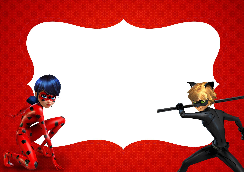 Convite 2 Miraculous Ladybug Ladybug Pinterest