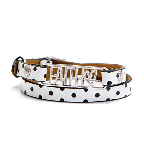 Polka Dot Faith Bracelet Gift Set