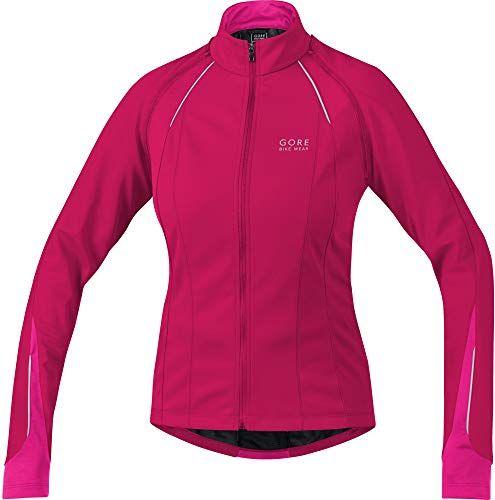New GORE BIKE WEAR 3 in 1 Women๏ฟฝs Soft Shell Road Cycling Jacket, Gore Windstopper, Phantom