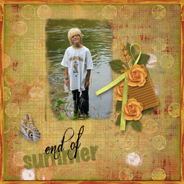 Summers End is the GDS August 2016 Collab Kit.  It is filled with orange,green, and light purple elements and papers.  The kit is perfect for those Dog Days of Summer Photos.  The kit is free with a $15 purchase in the store.  http://www.godigitalscrapbooking.com/shop/index.php?main_page=product_dnld_info&cPath=129&products_id=28500