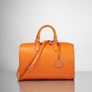 Ralph Lauren Vachetta Stirrup Boston Bag  953a66914dbf8