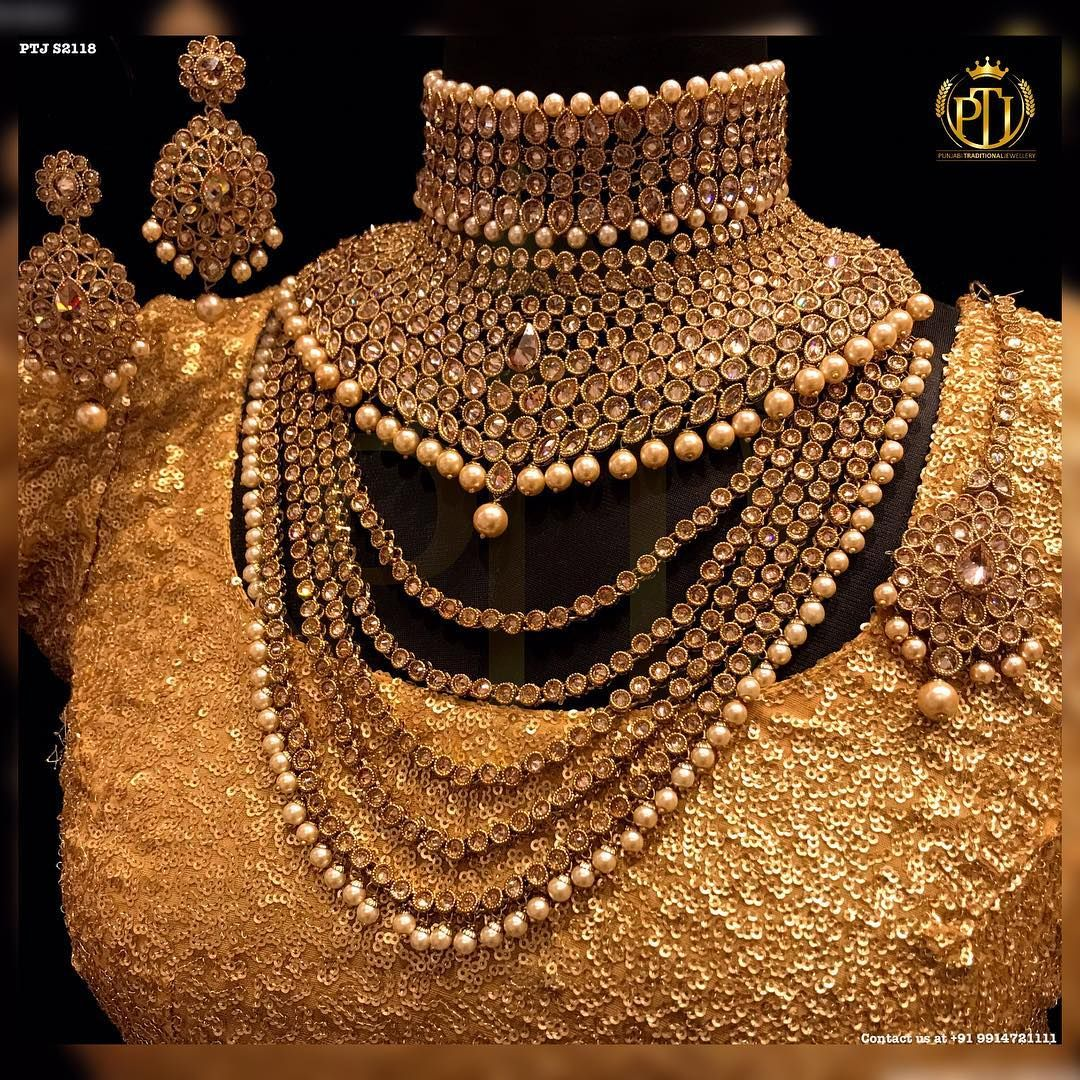 3,202 Likes, 71 Comments Punjabi Traditional Jewellery