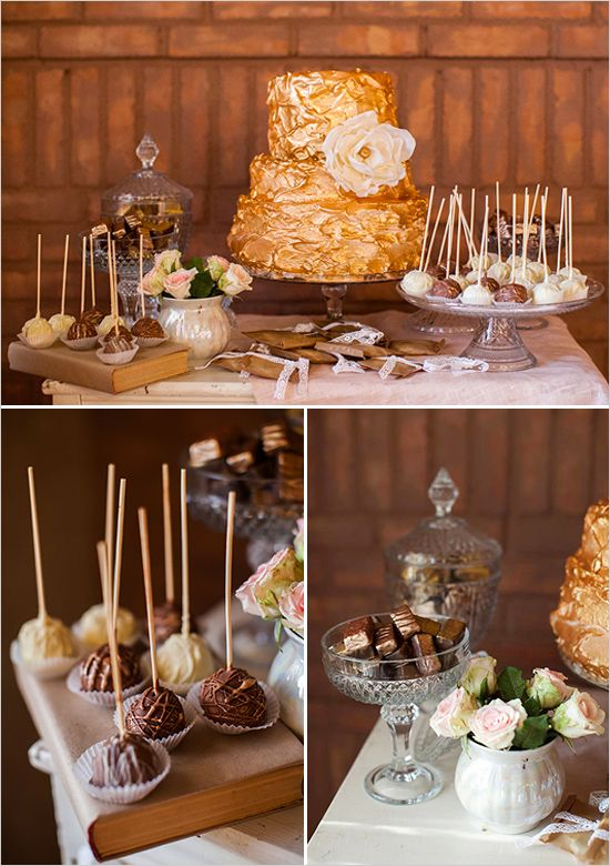 Pink And Gold Vintage Glam Wedding Cake Table Wedding Cake Table Wedding Desserts