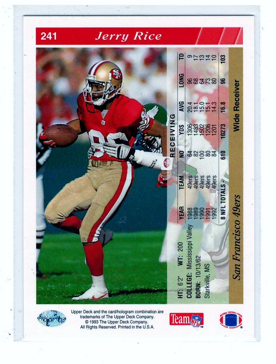 Football Cards  0.10 .. Sports Cards 49ers Players 58ae40221