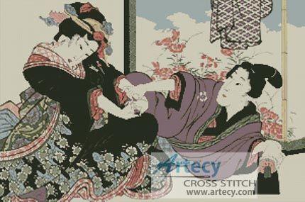 Women seducing japanese Old Women
