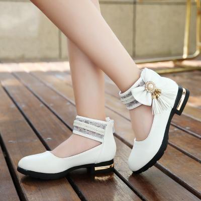 cab6389b03a3c1 New Girls Sandals Fashion Summer Child Shoes High Quality Tassel ...