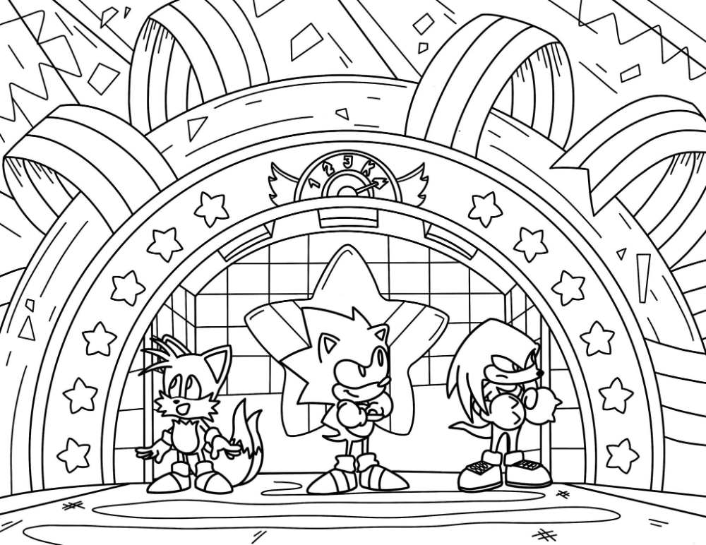 Sonic The Hedgehog On Twitter Coloring Book App Coloring Pages Coloring Books