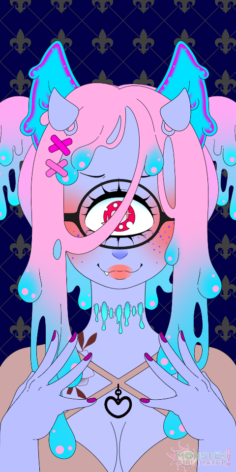 Download Monster girl, it's a cool Avatar maker,I'm not