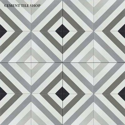 Oxford Tiles Encaustic Cement Tile Decorative Tile