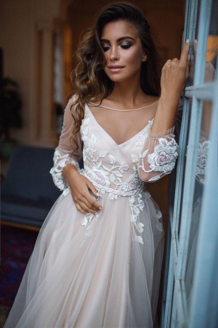 The Best Modern Boho Wedding Dresses From Etsy   Intimate Weddings - Small Wedding Blog - DIY Wedding Ideas for Small and Intimate Weddings - Real Small Weddings 17