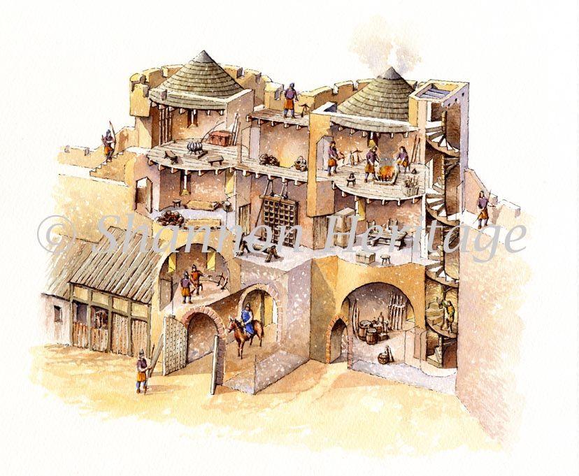 828 681 History Pinterest Castles